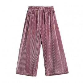 Παντελόνι βελούδο      μωβ