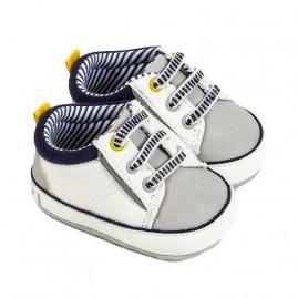 Παπούτσια Νεογέννητο αγόρι Πουά