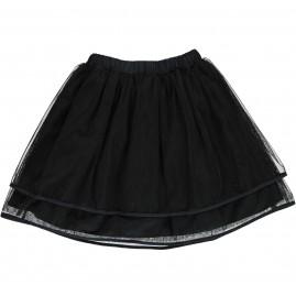 Φούστα με τούλι μαύρο