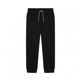 Παντελόνι φούτερ βασικό μαυρο