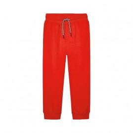 Παντελόνι φούτερ βασικό κοκκινο