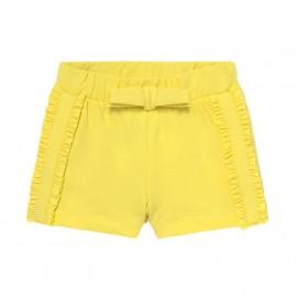 Παντελονι κοντο κιτρινο
