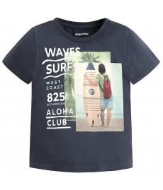 Μπλουζα κοντομανικη waves surf μπλε