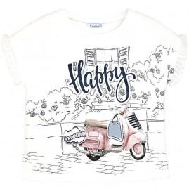014678c6117b Μπλουζα κοντομανικη μοτοσυκλε ρουζ