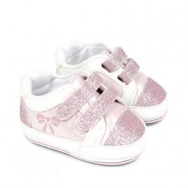 Αθλητικα ροζ  παπούτσι αγγαλιάς