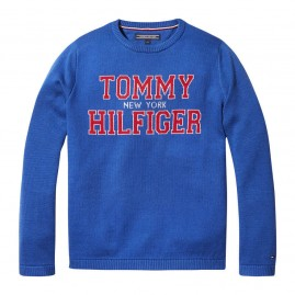TOMMY JACQUARD SWEATER