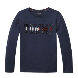 ESSENTIAL TOMMY SEQUIN TEE